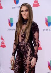 Jennifer Lopez attends the 17th annual Latin Grammy Awards in Las Vegas