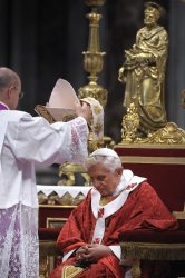 Pope Benedict XVI holds a mass for Feast of Saints Peter and Paul in Rome