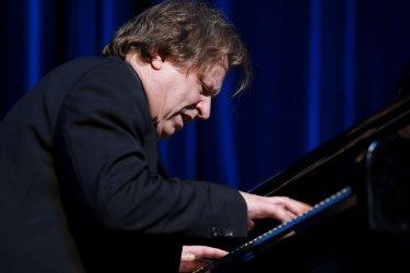 Pianist Roland Batik performs in Tehran
