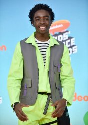 Caleb McLaughlin attends Kids' Choice Awards 2019