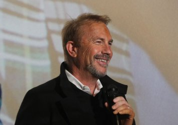 Actor Kevin Costner in St. Louis for movie premiere