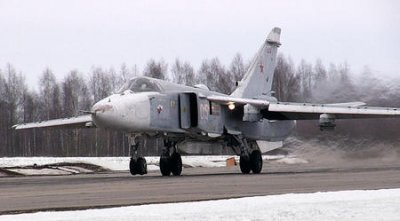 RUSSIAN PRESIDENT PUTIN SENDS FIGHTER PLANES ON PATROL FOR FIRST TIME SINCE SOVIET BREAK-UP