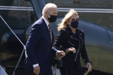 U.S. President Joe Biden Arrives From Camp David