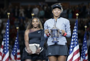 Naomi Osaka of Japan wins the US Open at the US Open