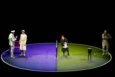 German theater Group Performs During annual Fajr theater festival in Tehran