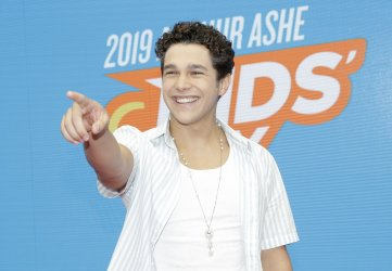 Austin Mahone at the 2019 Arthur Ashe Kids day at the US Open