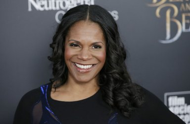 Audra McDonald at Beauty And The Beast screening in New York