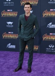 """Tom Holland atends the """"Avengers: Infinity Wars"""" premiere in Los Angeles"""