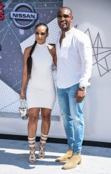 Zena Foster and Tank attend the BET Awards in Los Angeles