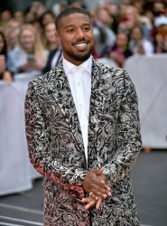 Michael B. Jordan attends 'Just Mercy' premiere at Toronto Film Festival