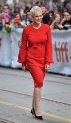 Jamie Lee Curtis attends 'Knives Out' premiere at Toronto Film Festival