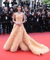 Sara Sampaio attends the Cannes Film Festival