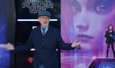 """Steven Spielberg attands the """"Ready Player One"""" premiere in Los Angeles"""