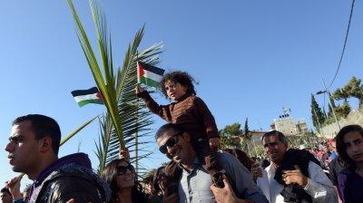 Palm Sunday Procession, Jerusalem