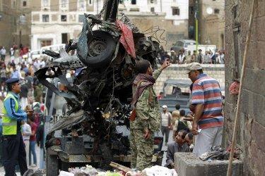 Car Bomb Targeting Mosque in Sanaa