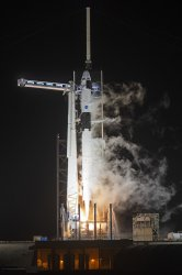 NASA Crew-1 Launches to ISS From Kennedy Space Center