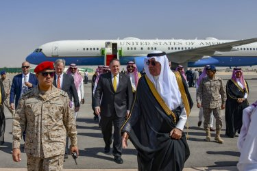Secretary of State Mike Pompeo Visiti Saudi Arabia for Diplomatic Talks