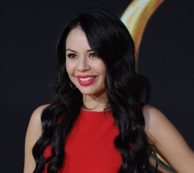 """Janel Parrish attends """"Oz The Great and Powerful"""" premiere in Los Angeles"""