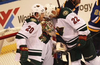 Game Five of the Stanley Cup Western Conference Quarterfinals Minnesota Wild vs St. Louis Blues