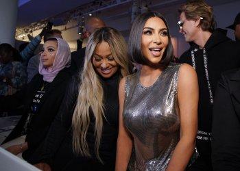 Kim Kardashian West Serena by Serena Williams fashion show