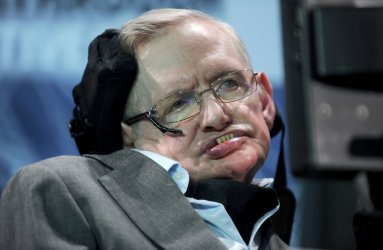 Stephen Hawking at the New Space Exploration Initiative