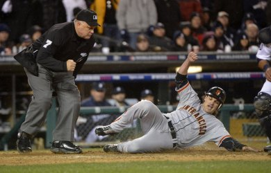San Francisco Giants vs. Detroit Tigers Game 4 World Series