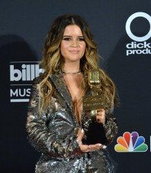Maren Morris wins the top Country Female Artist award at the 2018 Billboard Music Awards in Las Vegas, Nevada