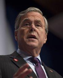 Jeb Bush attends the Republican Jewish Coalition Presidential Candidates Forum
