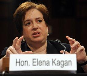 Confirmation hearing for Supreme Court nominee Elena Kagan in Washington
