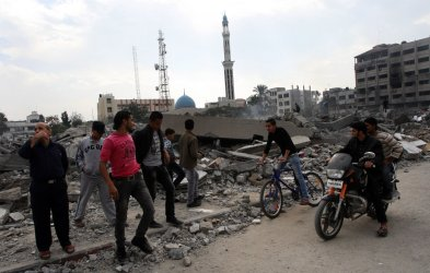 A ceasefire between Israel And Gaza's Hamas Rulers