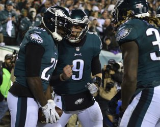 Eagles Blount scores on 11-yard touchdown run in the NFC Championship