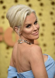Jenny McCarthy attends Primetime Emmy Awards in Los Angeles