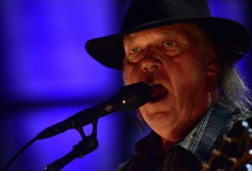 Neil Young at Farm Aid 2017
