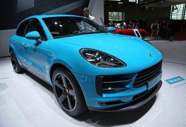 Porsche Macan at the Paris Motor Show