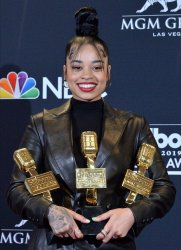 Ella Mai wins Top R&B Artist award at the 2019 Billboard Music Awards in Las Vegas
