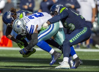 Seattle Seahawks beat the Dallas Cowboys 24-13 in Seattle
