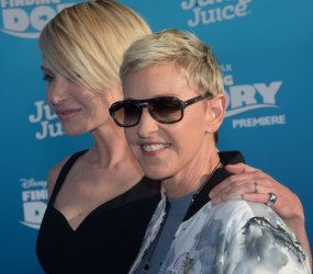"Ellen DeGeneres and Portia de Rossi attend the ""Finding Dory"" premiere in Los Angeles"