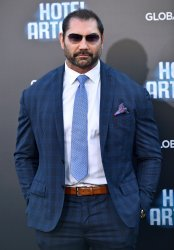 Dave Bautista attends 'Hotel Artemis' premiere in Los Angeles