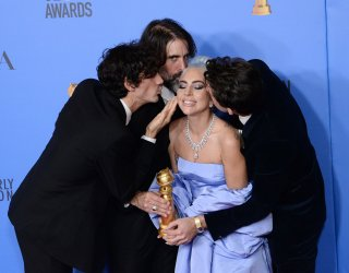 A Star is Born wins award at Golden Globes
