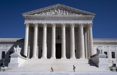 Supreme Court Closed during the Coronoavirus Pandemic in Washington, D.C.