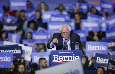 Bernie Sanders second event of 2020 presidential campaign