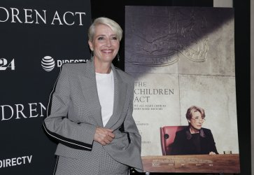Emma Thompson at the 'The Children Act' New York premiere