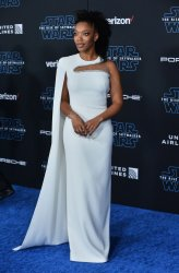 """Naomi Ackie attends """"Star Wars: The Rise of Skywalker"""" premiere in Los Angeles"""