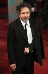 Tim Burton arrives at the Baftas Awards Ceremony