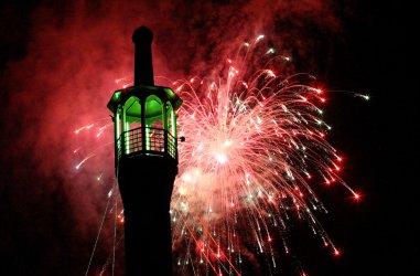 Fireworks display on Eid Ghadir in Iran