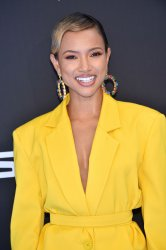 Karrueche Tran attends the 19th annual BET Awards in Los Angeles
