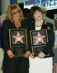 LAVERNE AND SHIRLEY WALK OF FAME STARS