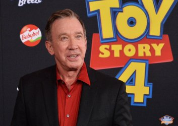 """Tim Allen attends the """"Toy Story 4"""" premiere in Los Angeles"""