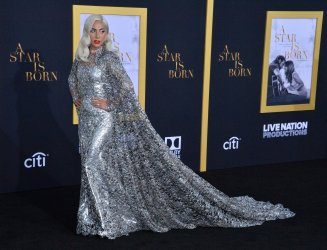 """Lady Gaga attends the premiere of """"A Star is Born"""" in Los Angeles"""