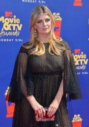 Mischa Barton attends the MTV Movie & TV Awards in Santa Monica, California